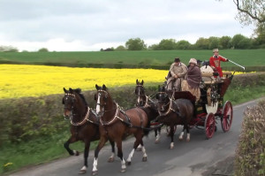 400 years of stagecoach travel